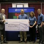 Engineering company donates $5,000 to college