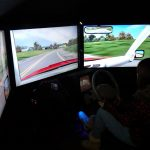 Portable simulator helps to create safer driving experience