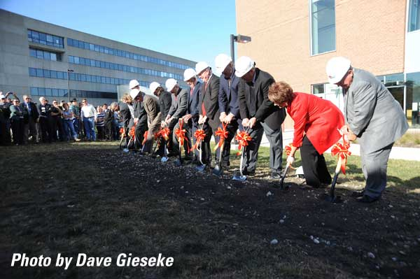 ABE Building 2 Groundbreaking