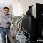 Aliprantis wants to 'sculpt' more powerful electric motors and generators