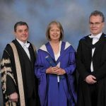 Vance receives honorary doctorate