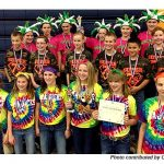 Screaming students to cheer on their teams, robots at FIRST LEGO League Championship