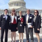 Material Advantage students advocate science funding to members of Congress