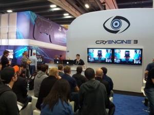 The Crytek Booth