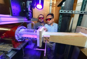 Turbine blade tests