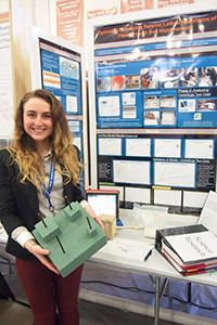 Maria Walsh Regotti at the 2014 Westchester Science and Engineer Fair, Sleepy Hollow, N.Y.