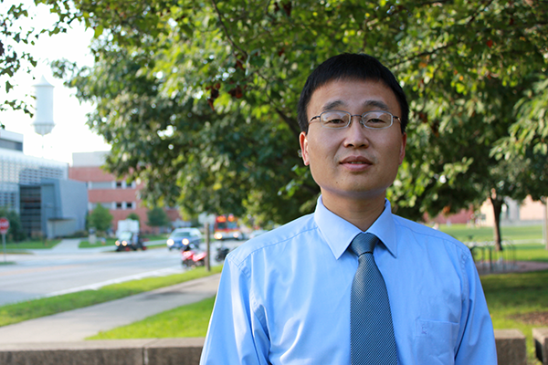 An Chen, assistant professor of civil, construction and environmental engineering