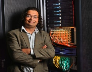 Baskar Ganapathysubramanian uses high performance computing tools to simulate problems in science and engineering.  File photo by Bob Elbert.