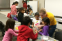 Iowa State student outreach event teaches kids bridge-building