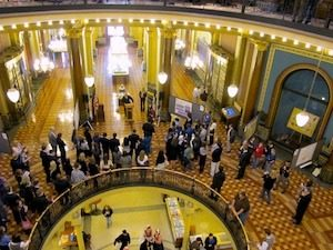 "Twenty-one Iowa State undergraduates will present their research to legislators and others during the annual ""Research in the Capitol"" from 11:30 a.m. to 1 p.m. Tuesday, March 24, in the Rotunda of the State Capitol building in Des Moines. The event highlights the importance of research to the undergraduate learning experience."