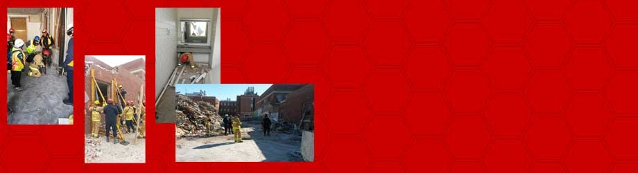 Iowa Task Force 1 trains for tornado rescue in Davidson Hall