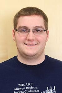 Tyler Wilson, civil engineering senior