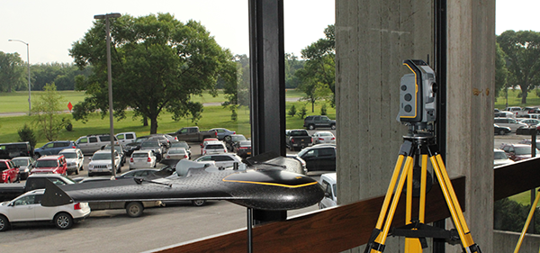 Engineers from Iowa and throughout the U.S. gather at Scheman Building June 3 for the first-ever Conference on Autonomous and Robotic Construction of Infrastructure. Photo courtesy of ISU Institute for Transportation