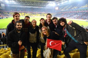 Erika Vaassen studies abroad in Turkey