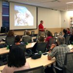 Anderson kicks off 2015-2016 staff mentoring program year