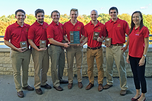 First-place Commercial Division Team
