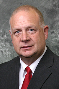 Dean McCormick (BSConE'81), director of design and construction services, Facilities Planning and Management at Iowa State University