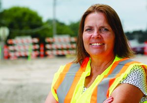 Shauna Hallmark, professor of civil, construction and environmental engineering and director of the Institute for Transportation at Iowa State University