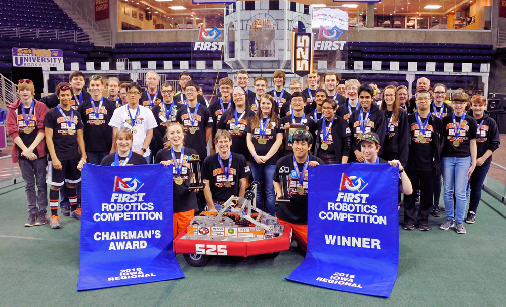 Cedar Falls High School Robotics Team
