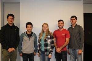 Members of the 2016 ISU DBIA student competition team (Photo by Jennifer Shane)