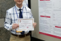 ME Grad Student Gets Double Win with Research Poster