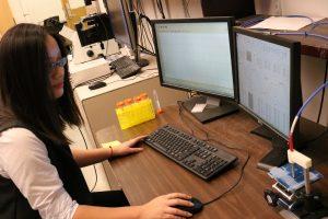 Future Ph. D, student Silu Feng