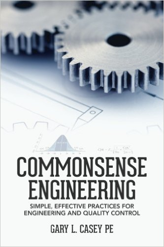 Commonsense Engineering by Gary Casey