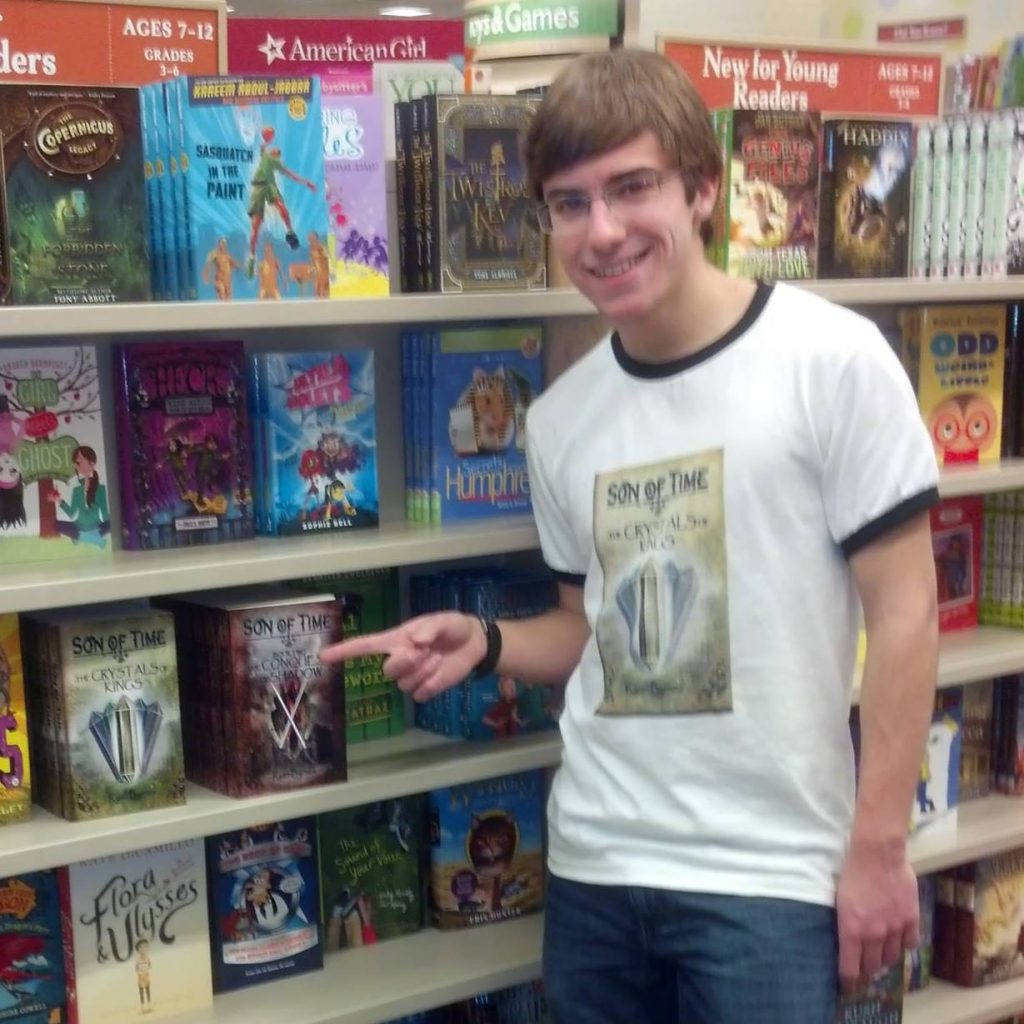 Mechanical engineering student Ryan Byrnes