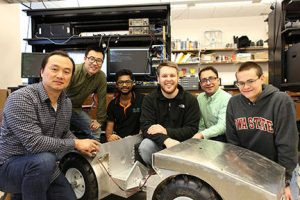 picture of the team with the phenobot