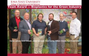 ISU College of Ag and Life Sciences Award