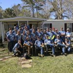 Construction engineering students aid South Carolina families in post-hurricane destruction