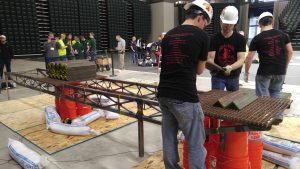 ISU team's steel bridge (Courtesy Michael Lundquist)