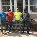 CCEE students lend a hand to Ames Emergency Residence Project