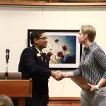 CCEE senior earns Dean's Student Leadership Award