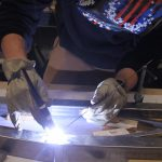 Iowa State students hold up under pressure in Steel Bridge Competition