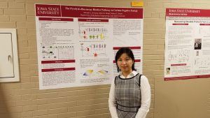 ME PhD student Wenqin Li