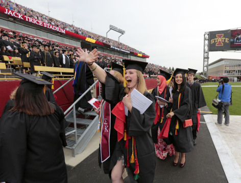 Iowa State University commencement