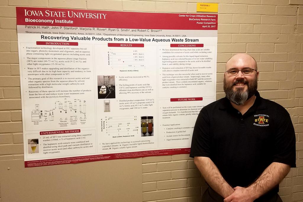 ME PhD student Patrick Hall