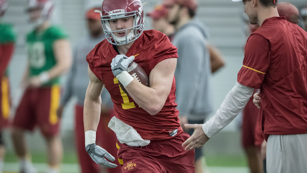 Iowa State tight end Chase Allen