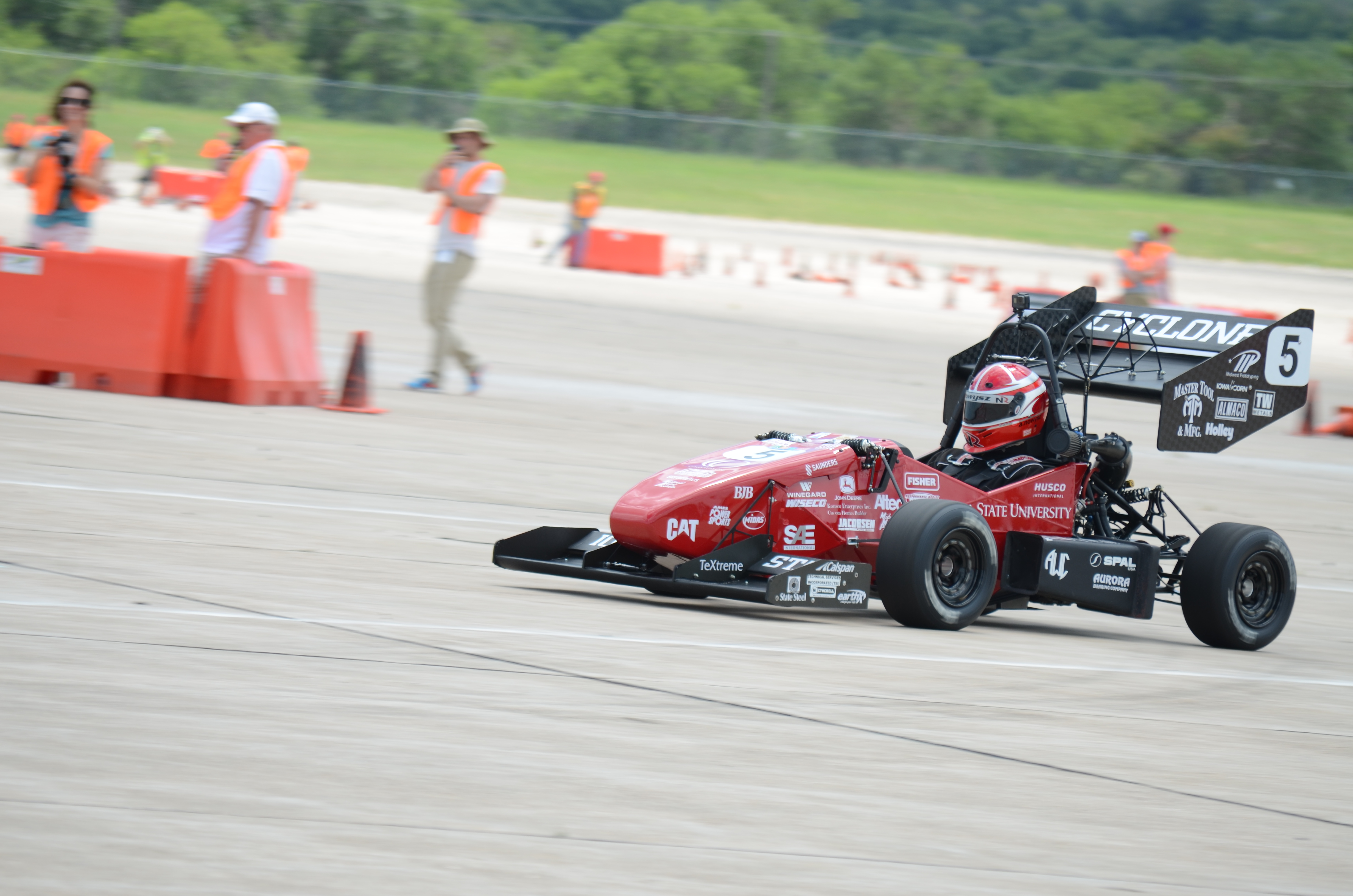 Cyclone Racing Takes 4th Place Overall At Fsae Lincoln College Of