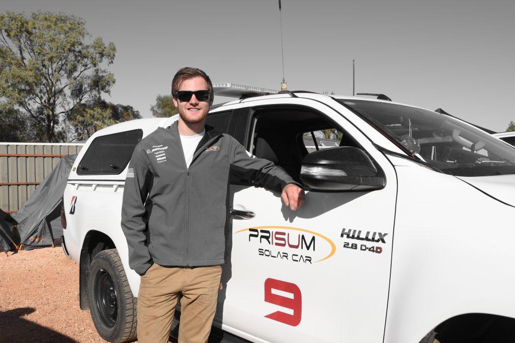 Team PrISUm member Andrew Mallek