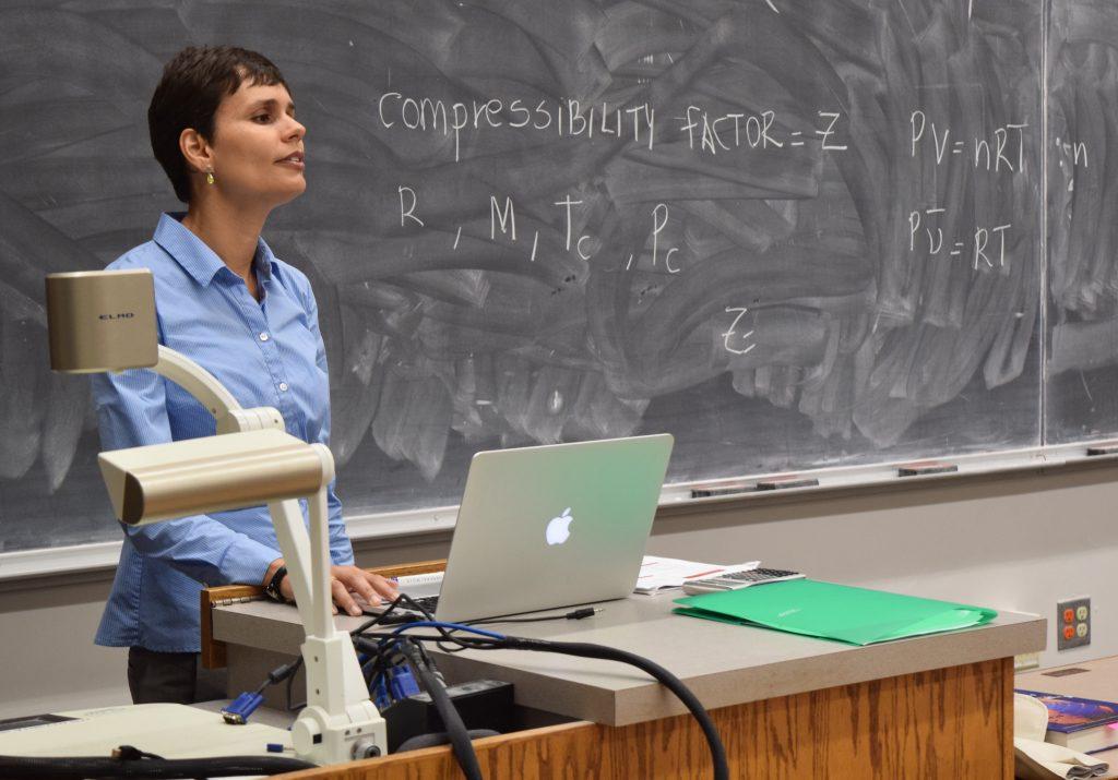 ME associate professor Carmen Gomes