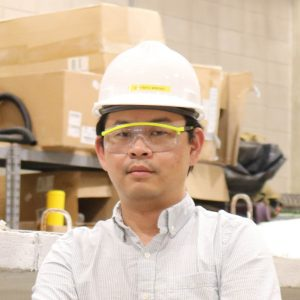 Hartanto Wibowo, postdoc in civil, construction and environmental engineering