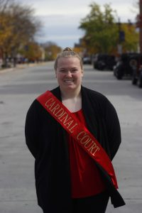 Amy Kurr, Cardinal Court Member and senior in materials engineering