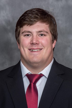 Iowa State offensive lineman Jake Campos