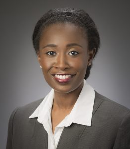 Mechanical engineering assistant professor Sarah Bentil