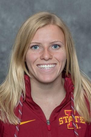 Iowa State swimmer Katherine Mueller