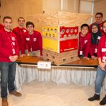 Cyclone engineering build team creates innovative disaster relief container for 3M challenge