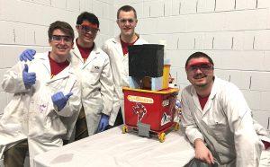 Team Cy-Onara with Chem-E-Car