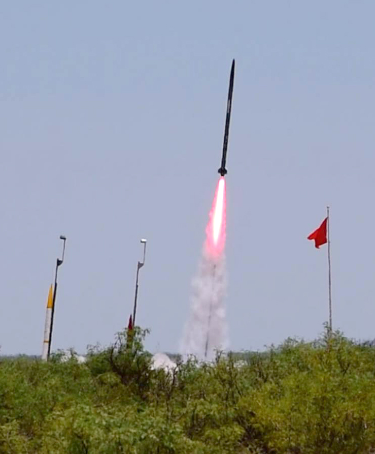 Rookie rocket builders from Iowa State launch to third place